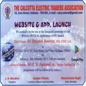 Website & App Launch
