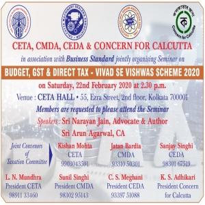 Budget, GST & Direct Tax